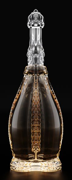 Suprême Cognac Bouteille by Ivan Venkov, via Behance
