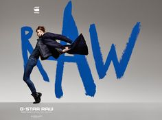 G-Star RAW 2013-2014 Fall Winter Ad Campaign - Destroy to Construct shot by Rankin with Sergio Pizzorno and Keenan Kampa - The Art of RAW: Designer Denim Jeans Fashion: Season Collections, Runways, Lookbooks and Linesheets
