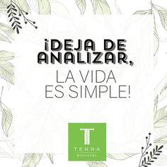 ¡Deja de sobre analizar, la vida es simple!  #tienesunacitaconelplaneta #savethedatewithplanetearth #terrabiohotel #hotelescolombia #turismosostenible #ecoturismo #ecoturismocolombia #slowlife #colombia