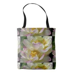 Lotus Flowers Tote Bag - photography gifts diy custom unique special