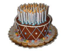 torta scatola per compleanno