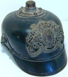 German WWI Pickelhaube helmet.