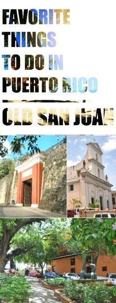Things to Do in Puerto Rico: Old San Juan | TheNoshery.com - @TheNoshery