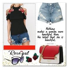 """""""Rosegal"""" by elma-polyvore ❤ liked on Polyvore featuring 3x1"""