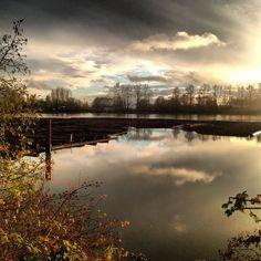 Fraser River Fraser River, Vancouver, Sky, Celestial, Sunset, Water, Outdoor, Gripe Water, Outdoors