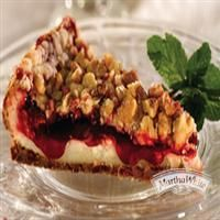 Strawberry Streusel Cheesecake from Martha White® So thankful to have won