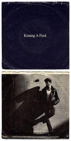 Kissing A Fool b/w Kissing A Fool (Instrumental) George Michael, Columbia Records/USA (1988)