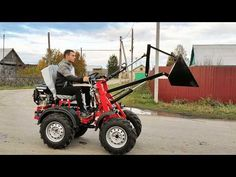 Motor, Power Trailer, Tractor Cabs, Homemade Tractor, Cool Garages, Landscaping Equipment, Work Train, Compact Tractors, Homemade Tools