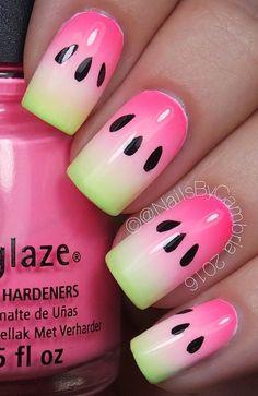 - 45 Multicolored Nail Art Ideas