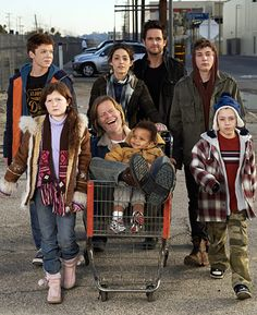 Shameless really good show its messed up and the dad is twisted but its a really good.