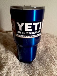 Yeti Rambler New Color Electric Blue Mug 30oz Tumbler Stainless Steel Cup Gift | eBay