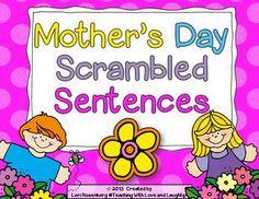 Mothers Day Scrambled Sentences