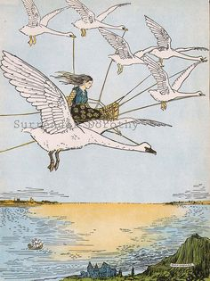 1927 Goose Girl by Hugh Spencer by SurrendrDorothy