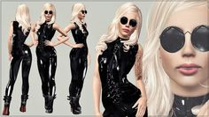 artRAVE Latex Onesie and Sunglasses by Artsims - Sims 3 Downloads CC Caboodle