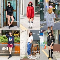 Korean Street Fashion- September 2016 Taken in streets of Seoul                                                 Photo credits: Musinsa, Hiphoper, LEEFAS, FTSHM