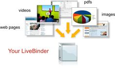 LiveBinders-LiveBinders is your 3-ring binder for the Web    Collect your resources  Organize them neatly and easily  Make an Impression  Best of all, it's free!  http://www.livebinders.com/