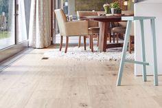 Contemplating a few of our very best wooden natural wide plank flooring techniques? Wide Plank Flooring, Wooden Flooring, Hardwood Floors, Scandi Home, Wood Surface, How To Antique Wood, Elle Decor, Home Interior Design, Dining Table