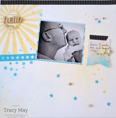 Scrapbook page - Stampin' Up! - Memory Keeping- Bedlam & Butterflies