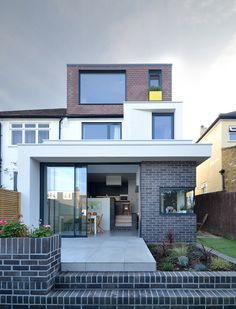 Broxholm Road by Selencky///Parsons 1930s House Extension, House Extension Plans, House Extension Design, Roof Extension, Extension Ideas, Loft Conversion Dressing Room, Loft Conversion Design, Dormer Loft Conversion, Loft Conversions