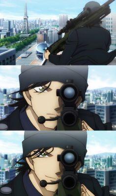 Detective Conan: The Private Eyes' Requiem Movie 10 Dc Anime, Anime Manga, Anime Guys, Conan Movie, Detektif Conan, Magic Kaito, Detective Conan Gin, Kaito Kuroba, Detective Conan Wallpapers