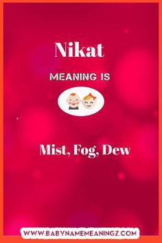 Nikat name meaning