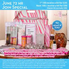 Sprinkle My Candles- Pink Zebra Independent Consultant: EPIC BUSINESS KIT SALE! 72 HRS ONLY