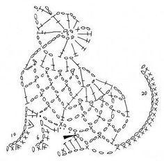 triangulos al crochet patrones - Buscar con Google