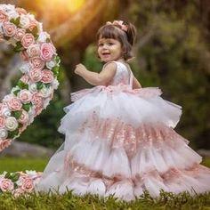 ARABELLA Cheap Flower Girl Dresses, Little Dresses, Girls Dresses, Baby Birthday Dress, Birthday Dresses, Girls Party Dress, Wedding Party Dresses, Gold Dress, Tulle Dress