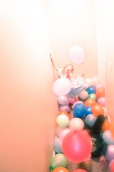 birthday balloon pit, a classic smith birthday party tradition