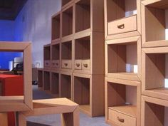 DIY Paper carton furniture