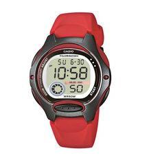 online shopping for Casio Women's Casio Collection Digital Quartz Red Resin Watch from top store. See new offer for Casio Women's Casio Collection Digital Quartz Red Resin Watch Casual Watches, Cool Watches, Watches For Men, Digital Sports Watch, Digital Watch, Casio G Shock, Casio Vintage, Casio Digital, Online Watch Store