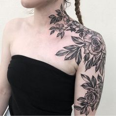 rose tattoo by sharna-lee turner