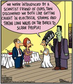 Free Range Comic Strip, October 30, 2014 on GoComics.com