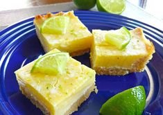 New recipe! These dairy-feee keto (or Paleo) key lime pie bars are sugar free and grain free, and taste like the real deal! There's a link to the recipe in my bio 😋 . Dairy Free Key Lime Pie, Paleo Key Lime Pie, Key Lime Pie Bars, Key Lime Flavor, Cooking Chocolate, Chocolate Tarts, Keylime Pie Recipe, Butter Pie, Peanut Butter