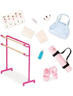 Our Generation Dolls Our Generation Doll Accessories, My Life Doll Accessories, American Girl Accessories, Our Generation Doll Clothes, Ropa American Girl, Custom American Girl Dolls, Poupées Our Generation, Og Dolls, Barbie Playsets