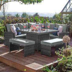 Patio Seating, Patio Dining, Garden Dining Set, Outdoor Dining Set, Garden Sofa Set, Dining Table, Rattan Garden Furniture, Patio Furniture Sets, Outdoor Dining Furniture