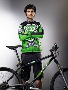 Two great things in one.  Cotic bikes & Guy Martin, general  TT legend. - He obviously has good taste