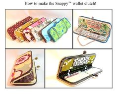 wallet clutch tutorial