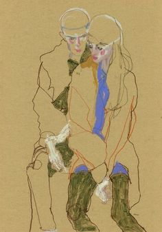 Anastasia and Lee, 2013, by Howard Tangye #HowardTangye