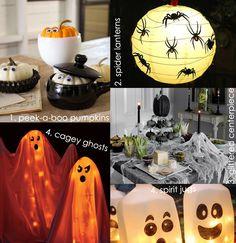 #Halloween Easy DIY Halloween ideas