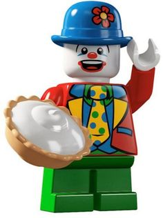 Tomy Takara Lego Minifigures S5 Action figure Small Clown Pie Laugh Funny