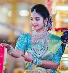 Brahmani and Rajeev Reddy Wedding Bridal Silk Saree, Saree Wedding, Wedding Bride, Wedding Ideas, Saree Collection, Bridal Collection, Engagement Saree, Indie, Bollywood