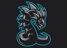 Commisionned work for a twitch chanel : LeviaThan. Copyright Dizzyline (Y. Logo Desing, Game Logo Design, Logo Esport, Logo Dragon, Gear Logo, Sports Decals, Sports Team Logos, Esports Logo, Logo Concept