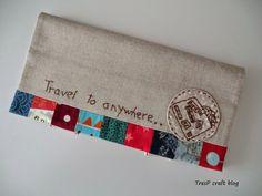 TresP craft blog: PORTA PASAPORTE MODELO ANNI DOWNS