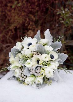 Wedding Flowers, Centerpieces, Decorations, Winter Flowers || Colin Cowie Weddings
