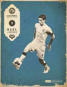 Raul Jimenez Club America, My Love, Movie Posters, Movies, Soccer, Sports, Films, Football, Film Poster