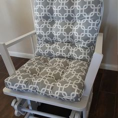 Glider Replacement Cushions, Glider Rocker Cushions, Rocking Chair Cushions, Seat Cushions, Wide Dresser, Custom Cushions, Sit On Top, Cushion Fabric, Gliders