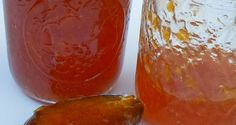 Orange jam with spices Orange Jam, How To Make Jam, Preserves, Pickles, Jelly, Spicy, Veggies, Pudding, Sweet