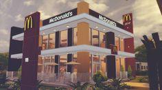 The Sims 4 Mody: Restauracja McDonald od RomerJon