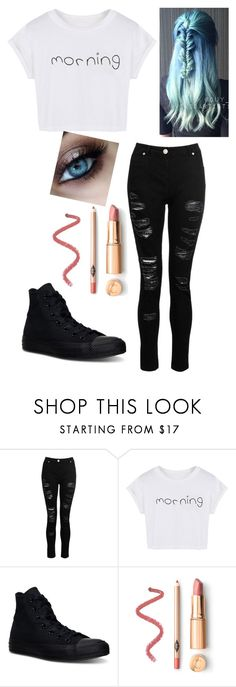 """""""Take My Money..."""" by hannnahsuzanne ❤ liked on Polyvore featuring Dorothy Perkins, WithChic, Converse, money, 5sos and 5secondsofsummer"""